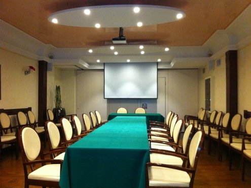 <p>Hotel Spessotto - meeting room</p>